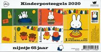 Netherlands - Children's Stamps 2020 - Mint souvenir sheet