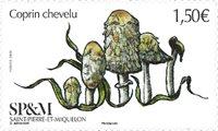 St Pierre & Miquelon - Champignons - Timbre neuf