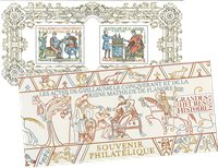Frankrig - Guillaume - Postfrisk miniark i folder