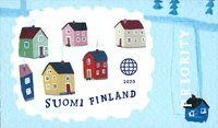 Finlande - Village - Timbre neuf