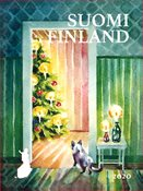 Finland - Juletræ - Postfrisk frimærke