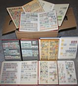 Worldwide - Collection in 9 stockbooks etc.