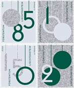 Liechtenstein - Julen 2020 - Postfrisk sæt 4v