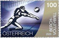 Østrig - Sport - Beachvolley - Postfrisk frimærke
