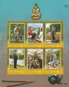 Thailand - 60-året for tronbestigelsen - Postfrisk miniark