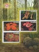 Thaïlande - Exposition florale, bloc-feuillet - Bloc-feuillet neuf