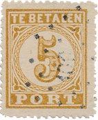 Dutch Indies 1874 - NVPH P1 - Stemplet
