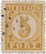 Indes orientales néerlandaises 1874 - NVPH P1 - oblitéré - Oblitéré
