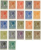 Holland  - NVPH 177-198 - Ubrugt