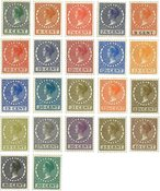 Pays-Bas - NVPH 177-198 - Neuf avec charnières