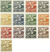 Curacao 1931-1939 - Nr. LP4-LP16 - Postfris