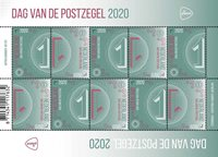 Netherlands - Day of the stamp 2020 - Mint sheetlet