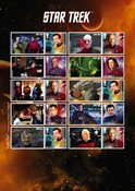 Grande-Bretagne - Star Trek - Feuillet neuf