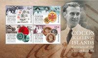 Cocos Keeling - Møntsort - Postfrisk miniark
