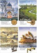 Australien - Verdensarv 2020 - Postfrisk sæt 4v