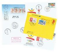 France - 4 different envelopes