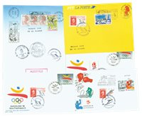 France - 11 different envelopes