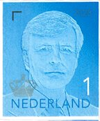 Netherlands - Def. Willem 2020 - Blue - Mint stamp