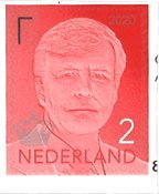Netherlands - Def. Willem 2020 - Red - Mint stamp