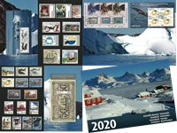 Greenland - Year pack 2020 - Year Pack with cancelled stamps