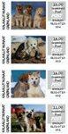 Frankeringsmærker 2020 - Grl. Post - Postfrisk - Collectors strip