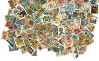 Inde - 400 timbres oblitérés différents