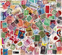 Germania - 750 francobolli differenti usati