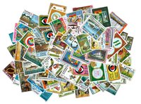 Etiopia - 75 francobolli differenti nuovi