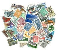 Finland - 50 forskellige stemplede frimærker