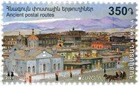 Armenien - EUROPA 2020 Gamle postruter - Postfrisk frimærke