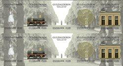 Danmark - Guldalderen - Postfrisk 10-ark