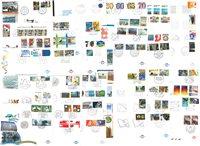 Holland - 100 forskellige førstedagskuverter