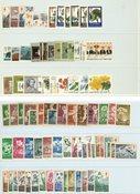 Finland - Postfrisk samling tuberkulose-frimærker