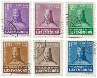 Luxembourg 1935 - MICHEL 284/289 - Stemplet