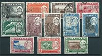 British Colonies 1950 - Cancelled