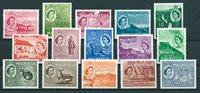 British Colonies 1953 - Mic. 243-57 - Unused