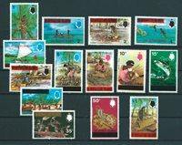 British Colonies 1976 - Mic.248-61 - Mint