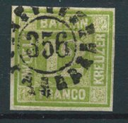 Bavaria 1861 - AFA 13 - Cancelled