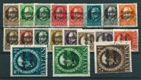 Bavaria 1919 - AFA 153-71 - Cancelled