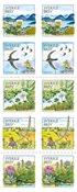 Sverige - Værdifuld natur - Postfrisk hæfte