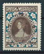 Dansih West Indies - Christmas - 1908 - Unused