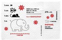 Austria - COVID-19 - stamp on toilet paper - Mint souvenir sheet