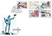 Sverige - Göteborgs 400 års jubilæum - Førstedagskuvert