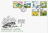 Sverige - Værdifuld natur - Førstedagskuvert