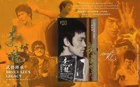 Hong Kong - Bruce Lee - Feuillet neuf $20