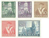 Danmark 1936 - AFA 229-233 - Postfrisk