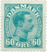 Danmark 1921 - AFA 130 - Postfrisk