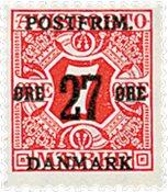 Denmark - AFA 87 - Letter Press