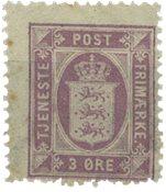 Danmark 1875 - AFA Tj. 4 - Postfrisk