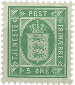 Danemark 1902 - AFA 9 service - Neuf sans ch.
